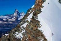 Vue du ciel de la Suisse