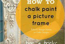 picture frame -how to paint