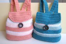 crochet backbag for kids