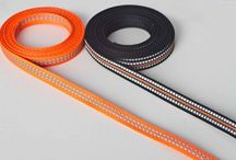 Sangles, tapes, Cintas industrial uses / Several textile tapes and ribbons we manufacture for different kind of applications