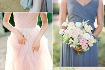 Rose and Periwinkle Wedding Style