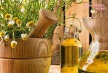 Herbal teas, essential oils