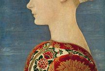 Painting / Portrait / Middle ages