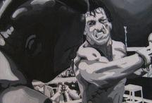 ROCKY vs MR.T / by salem younci