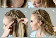 Everyday hairstyle tutorials