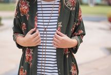 striped shirt combi