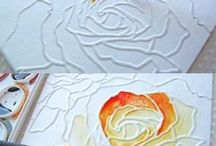 Flower Cards & Projects / Card inspiration, DIY projects, and ideas!