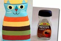Nescafe kavanoz
