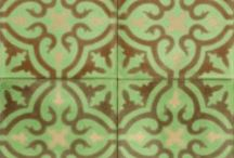 tile patterns / by Eliza Jane Curtis | Morris & Essex