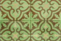 azulejos / azulejos / patrones / tile patterns / by Eliza Jane Curtis | Morris & Essex