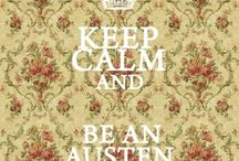 My Obsession! (Jane Austen) / When Jane Austen is the only thing that keeps you from sleeping  / by Aimee Stanley