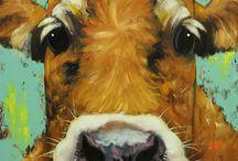 S-schilderen dieren