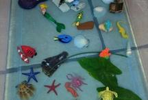 Giochi d'acqua e sensory bag