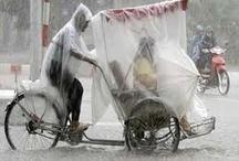Dry on bike