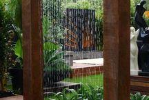 Voda na zahradě, fontány