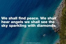 Quotes https://t.co/O6B6MuNtOW #quotes #word #fancyquotes @fancyquotes_com We shall find peace. We shall hear angels we shall s