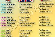 angielski niemiecki i hiszpański