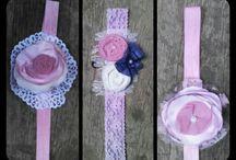 Handmade lace ribbons