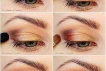 Ideas para unos ojos perfectos en cualquier momento / Multitud de maneras y distintas formas para maquillarse los ojos para cualquier momento del día.