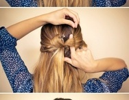 Hairstyles / Cool and easy hairstyles