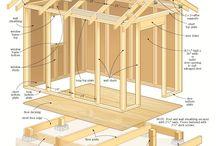 Kerti ház építése