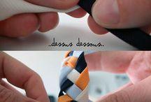 pulseras con cintas