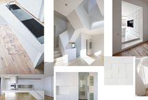 RD HUF HAUS / Návrh atypického interiéru