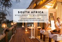 "Experience - Winelands to Wilderness / From the tranquility of a 300-year-old ""Cape Dutch"" wine farm to a luxury safari lodge in the Kapama Private Game Reserve, this spectacular 8 NIGHT/9 DAY EXPERIENCE showcases the very best of South African cuisine, culture and wildlife."