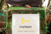 Los pasos que recorren el #CaminodeSantiago son los latidos que unen al mundo. #Fairway / El Camino de Santiago es más que una ruta. En Fairway descubriremos cada detalle de esta experiencia que ya ha conquistado a millones de personas en el mundo.