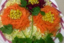 Meze Ve Salata Türkçe