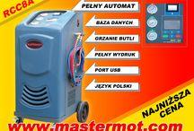 Stacja klimatyzacji RCC8A / W pełni automatyczne urządzenie do obsługi klimatyzacji samochodowych  Stacja klimatyzacji w pełni automatyczne urządzenie RCC8A
