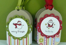 étiquettes pour les cadeaux
