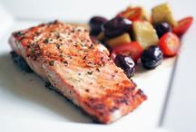Menu - Fish/Seafood Dishes / Recipes with fish as the primary meat / by HCWC Wellness Program