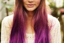 dip dye hair / Going to do dis v soon to ma hair....