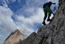 Klettersteige / Klettersteige in den Alpen