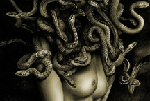 Medusa's Moodboard / Sneaky beautiful snake with a strange eyes which can morph you to a gorgeous stone.