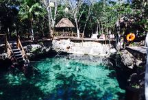 Zacil Xa Cenote Tulum for Wedding Ceremonies / Great area for a cenote wedding set in the Tulum jungle