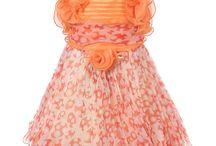 Çocuk Şifon Elbise