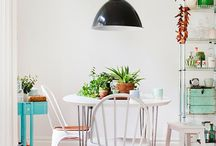 Dining nooks | Pequeños comedores / Ideas for interiors and home decor