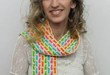Crochet Scarves, Shawls, Cowls / crocheted scarves, shawls and cowls