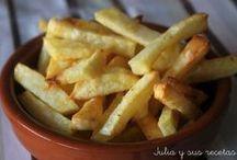 patatas ( menos calorías)