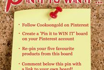 November Pin It to Win It! / November Pin It to win it Competition: this competition will Start at 9am on Friday 14th November and close at midnight on 16th November 2014. Full Ts and Cs can be found here: http://bit.ly/1sr15Ma
