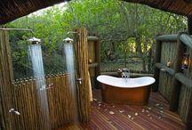 outside baths