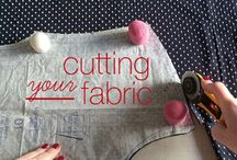 Sewing - Cutting Out