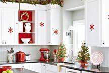 Christmas kitchen decorations