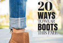 How to wear boots