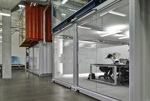 Espaços com container / Ideias de uso para containeres