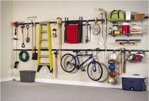 Garagem / Organização - arrumos