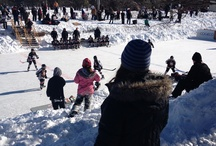 Couple of shots from Hockey Day In Peterborough