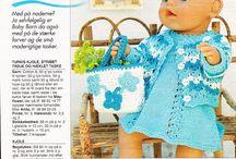 Dukke tøj til baby born.